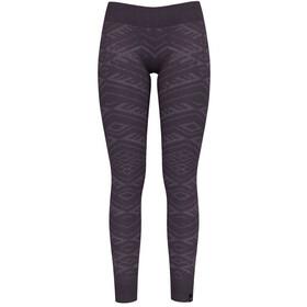 Odlo Suw Natural + Kinship Warm Bottom Pants Women vintage violet melange